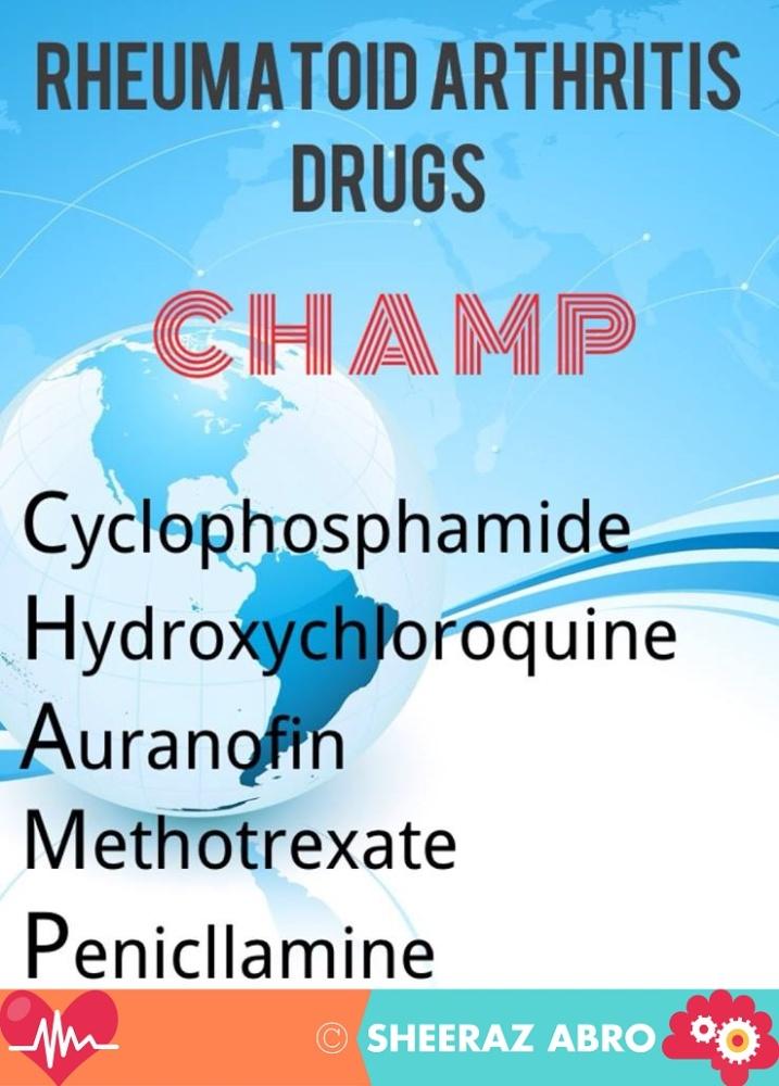 Pharmacological Chemotherapy Mnemonics (6/6)